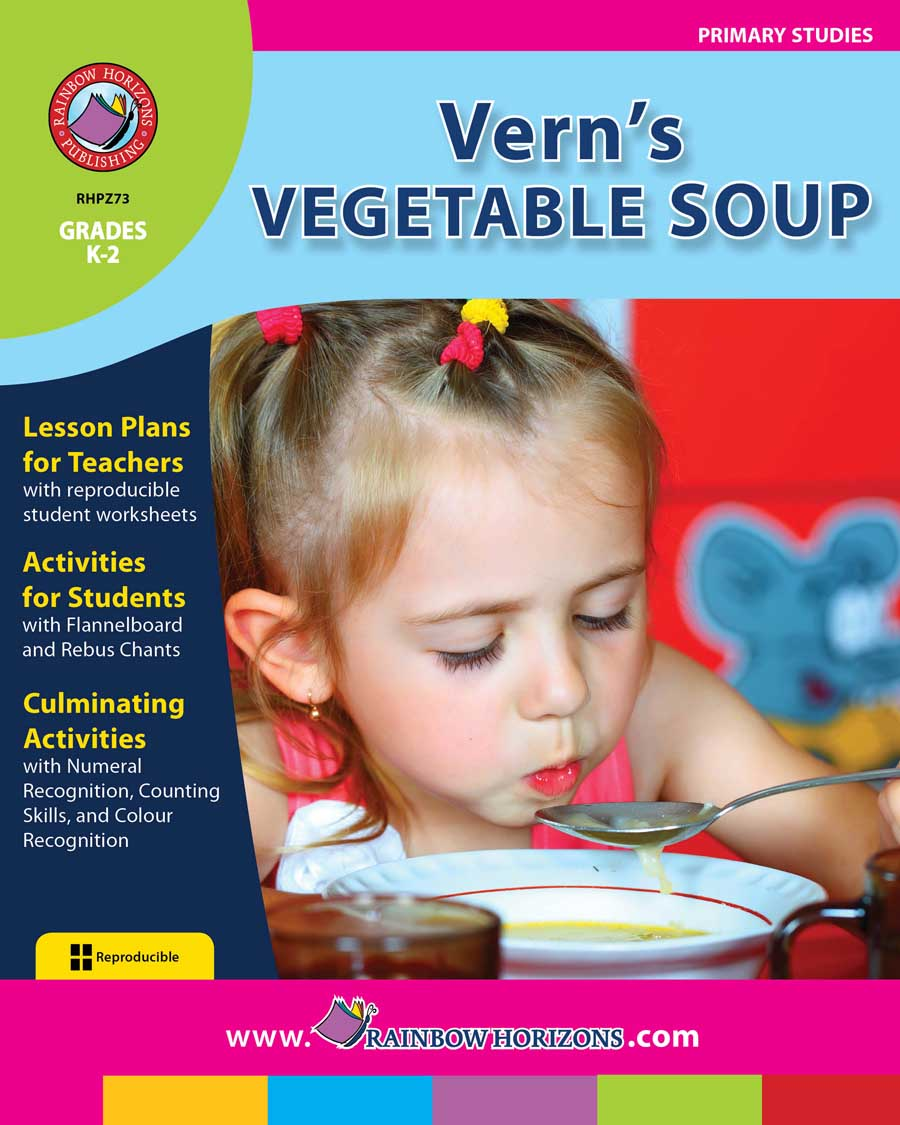 Vern's Vegetable Soup Gr. K-2 - print book