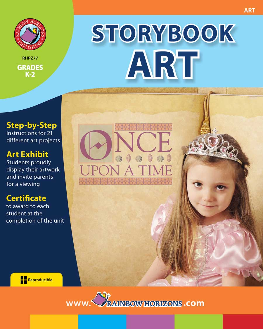 Storybook Art Gr. K-2 - print book