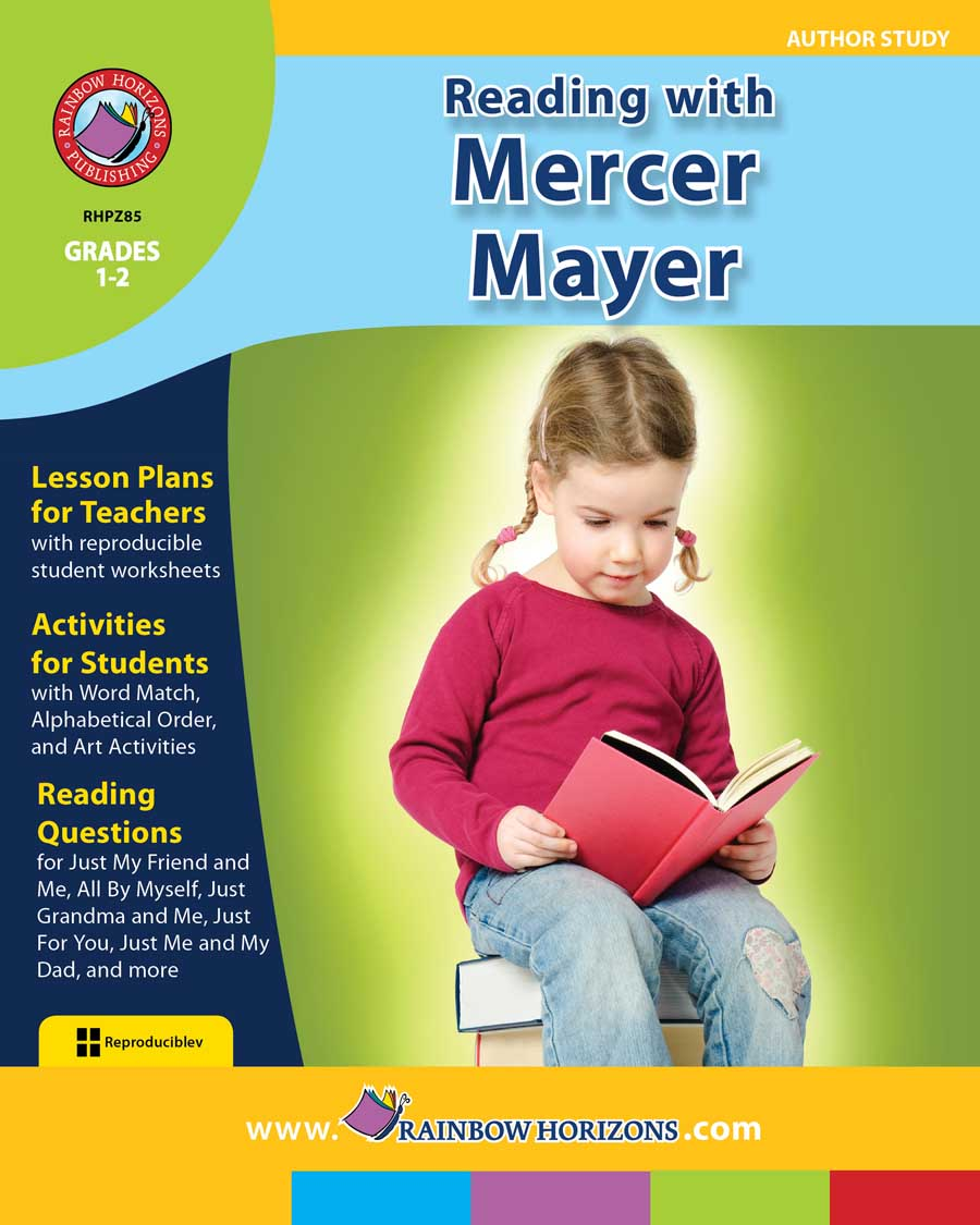 Reading with Mercer Mayer (Author Study) Gr. 1-2 - print book