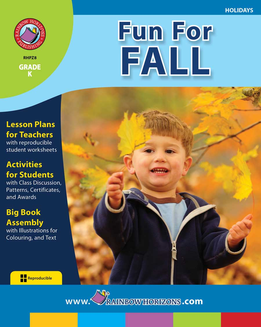Fun For Fall Gr. K - print book