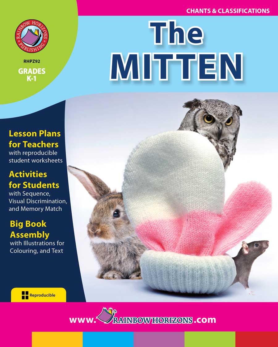 The Mitten (Novel Study) Gr. K-1 - print book