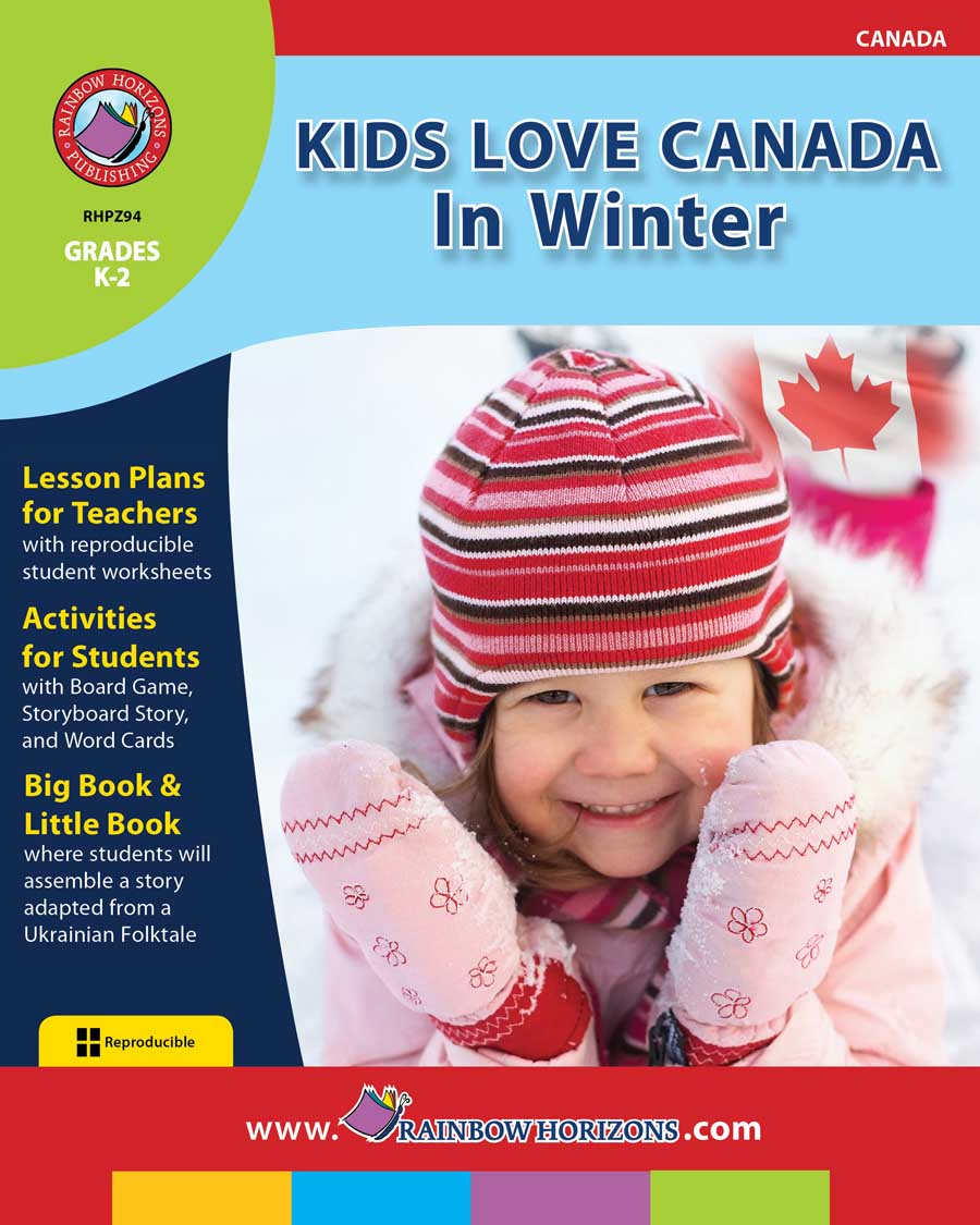 Kids Love Canada: In Winter Gr. K-2 - print book