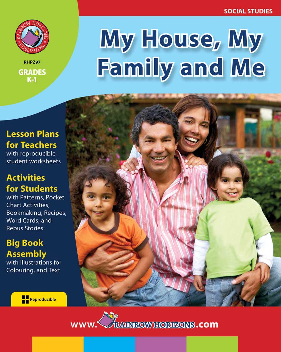My House, My Family and Me Gr. K-1 - print book